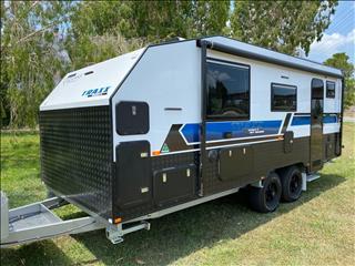 2019 On The Move Caravans Series 2 TRAXX  19' Rear Door