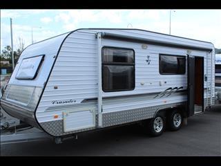 2009 Crusader MK2 Family Caravan 19'6