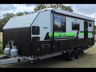 2019 On The Move Caravans Series 2 TRAXX  19' Rear Door