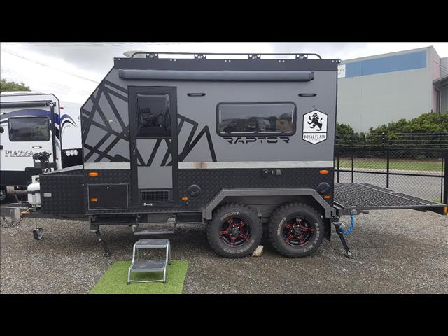 "ONE OFF SHOW DEMONSTRATOR SALE, NEVER REGISTERED 2017 ""Royal Flair"" RAPTOR RT 11F 5-2 Shower Toilet Limited Edition"