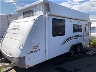2012 Jayco Sterling Pop Top Shower Toilet Combo