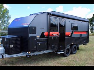 2019 On The Move Caravans Series 2 TRAXX  19' Front Door
