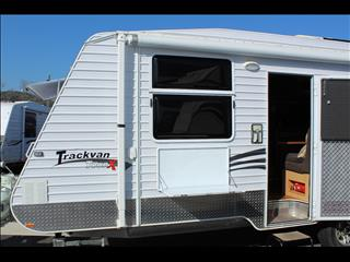 2010 Creative Caravans Trackvan Tour X Bunk Caravan