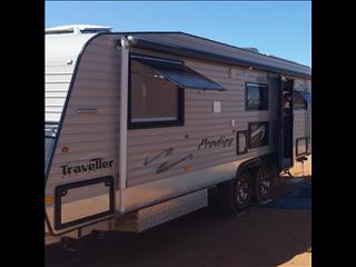 2013 Traveller Prodigy Caravan