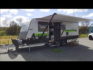 2017 On The Move TRAXX Bunk caravan