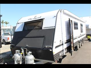 2015 Regal Caravans Commander RSV Tri Axle