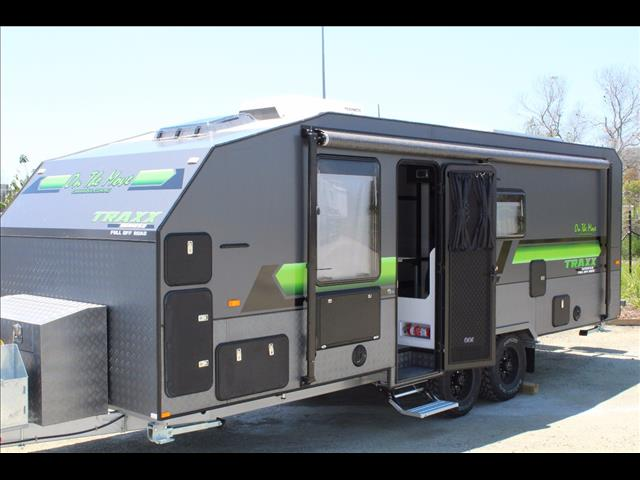 caravans for sale new 2018 on the move traxx series 2 bunk. Black Bedroom Furniture Sets. Home Design Ideas