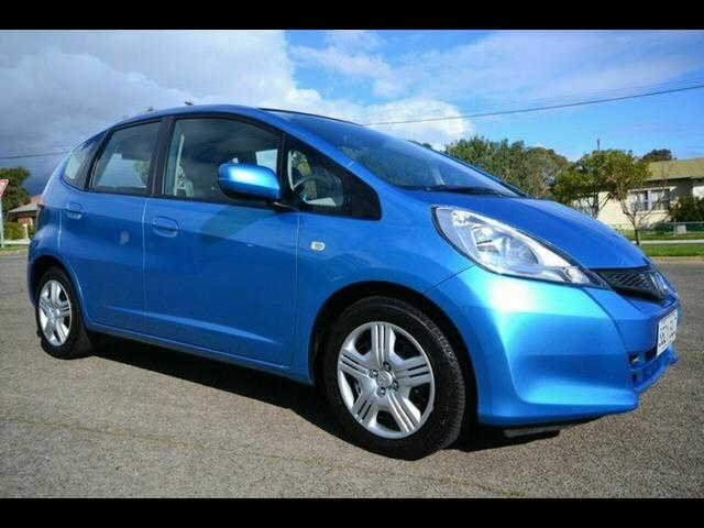 2012 Honda Jazz GLi GE MY12 Hatchback