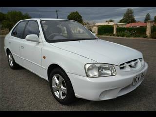 2000 Hyundai Accent GLS LC Hatchback