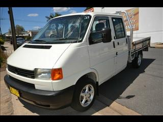 2002 Volkswagen Transporter TYPE 70E T4 Dual Cab
