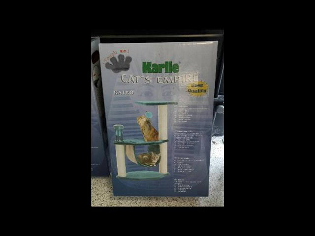 Cat Scratcher now 1/2 price. Grand opening Sale, was $79.95 now only $39.95.   At Puppy Palace, Underwood.