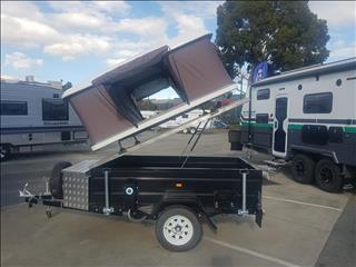 New 7x4 Camper Trailer with Roof Top Tent (Base Model)
