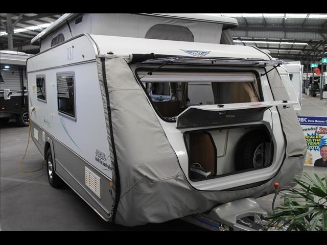 2013 JINDABYNE 2210 POP TOP CARAVAN