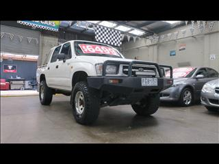1998 TOYOTA HILUX (4x4) RZN169R DUAL CAB P/UP
