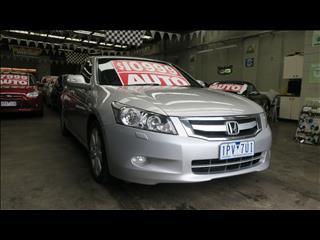 2008 HONDA ACCORD V6 LUXURY 50 4D SEDAN
