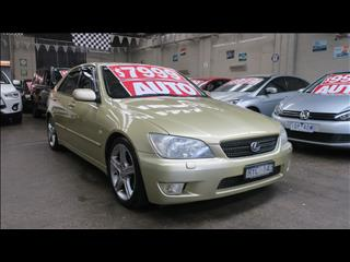 2003 LEXUS IS300 JCE10R 4D SEDAN