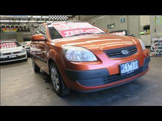 2007 KIA RIO LX JB 5D HATCHBACK