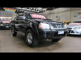 2008 NISSAN NAVARA ST-R (4x4) D22 MY08 DUAL CAB P/UP