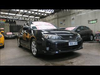 2007 SUBARU IMPREZA RS (AWD) MY08 5D HATCHBACK