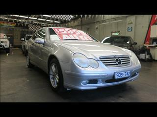 2003 MERCEDES-BENZ C180 KOMPRESSOR CL203 2D COUPE