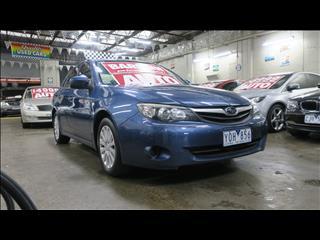2011 SUBARU IMPREZA R (AWD) MY11 4D SEDAN