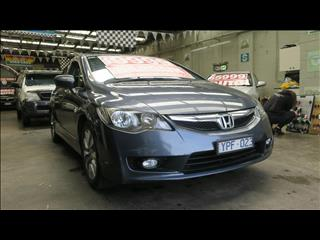 2011 HONDA CIVIC VTi-L MY11 4D SEDAN