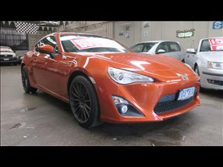 2012 TOYOTA 86 GT ZN6 2D COUPE