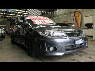2010 SUBARU IMPREZA WRX (AWD) MY11 4D SEDAN