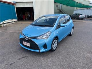 2015 TOYOTA YARIS ASCENT NCP130R MY15 5D HATCHBACK