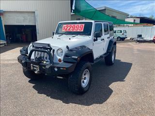 2012 JEEP WRANGLER UNLIMITED RENEGADE SPORT (4x4) JK MY12 4D HARDTOP