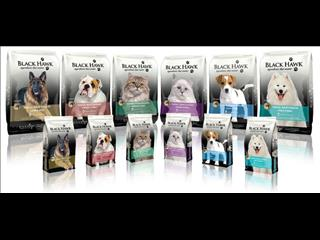 Black Hawk Pet Food! Wet & Dry - Call now