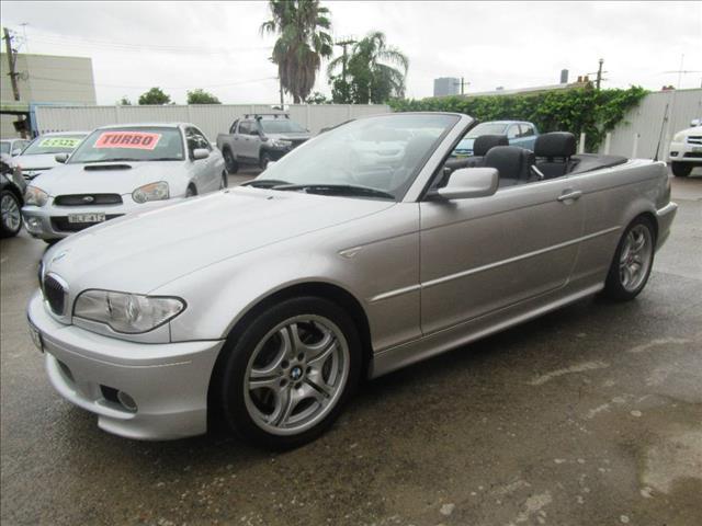 2005 BMW 330CI HIGHLINE E46 MY04 2D CONVERTIBLE