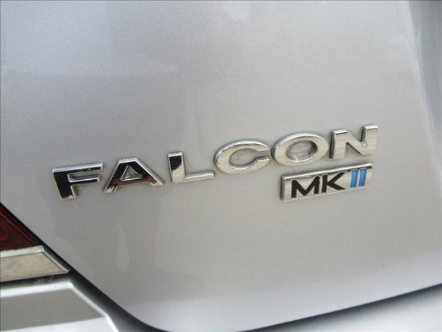 2005 FORD FALCON XR6 BA MKII 4D SEDAN
