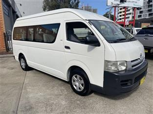 2006 TOYOTA HIACE COMMUTER TRH223R MY07 BUS