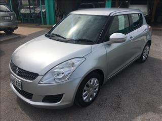 2013  SUZUKI SWIFT GL FZ MY13 5D HATCHBACK