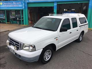 2004  FORD COURIER GL PG CREW CAB P/UP