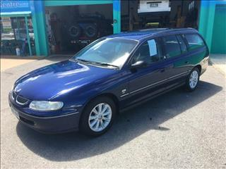 2000  HOLDEN COMMODORE OLYMPIC EDITION VTII 4D WAGON