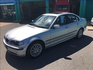 2002  BMW 3 25i E46 4D SEDAN