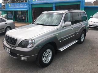 2004  HYUNDAI TERRACAN HIGHLANDER 05 UPGRADE 4D WAGON
