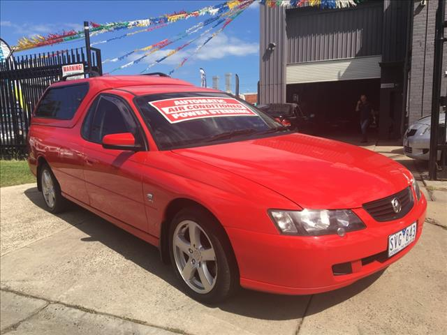 2004 HOLDEN COMMODORE S VYII UTILITY