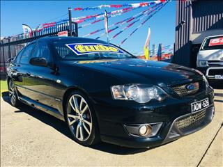2008 FORD FPV F6 TYPHOON R SPEC BF MKII 4D SEDAN