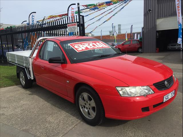 2004 HOLDEN COMMODORE ONE TONNER S VYII C/CHAS