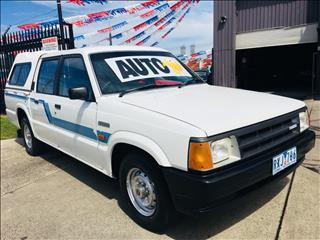1991 MAZDA B2200 DLX DUAL CAB P/UP