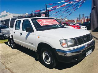 2000 NISSAN NAVARA DX (4x2) D22 SERIES 2 DUAL CAB P/UP