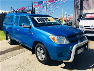 2005 TOYOTA HILUX SR5 GGN15R X CAB P/UP