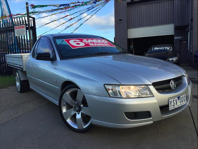2006 HOLDEN COMMODORE ONE TONNER VZ C/CHAS