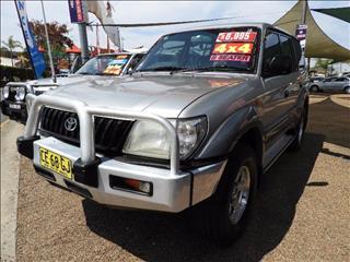 2002  Toyota Landcruiser Prado RV6 VZJ95R Wagon