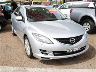 2008  Mazda 6 Luxury GH1051 Hatchback