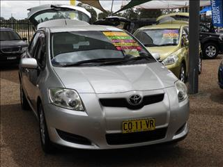 2008  Toyota Corolla Ascent ZRE152R Hatchback