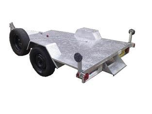Flat Bed Trailer Single Axle (Item 105)